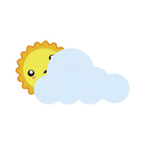 Cloudy Clip Art - Quarter Clipart - Cliparts.co