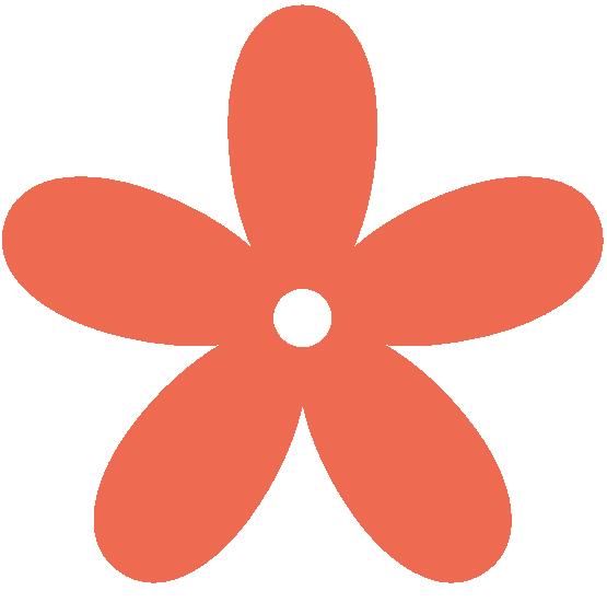 Colour Coral 2 Peace png Coral Flower Clip Art