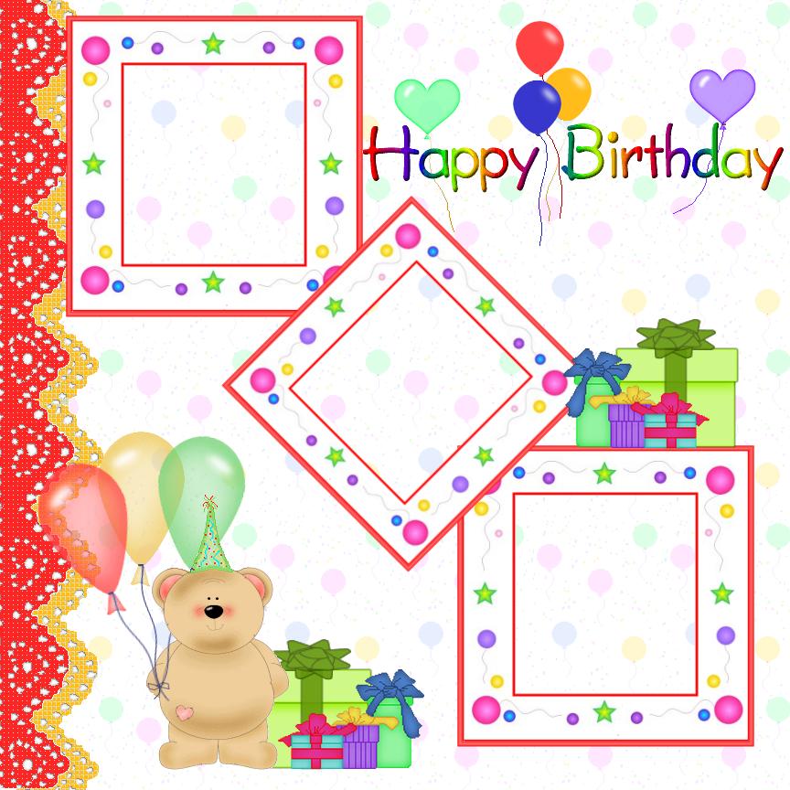 clipart birthday frames - photo #39