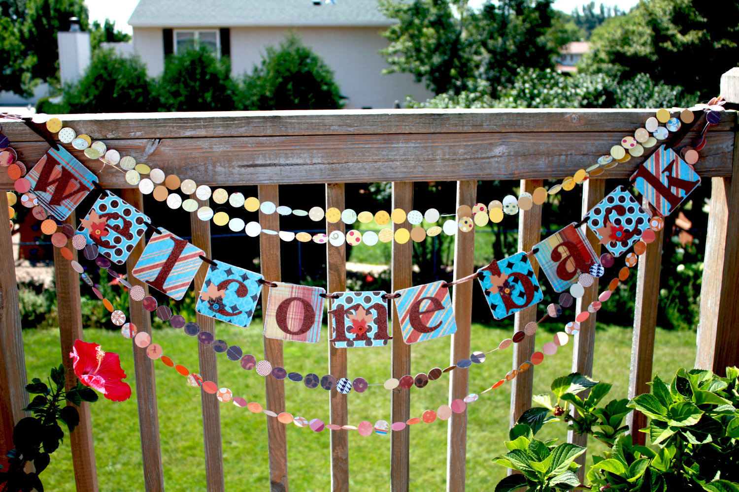Welcome back signs - Welcome home decoration ideas paint ...