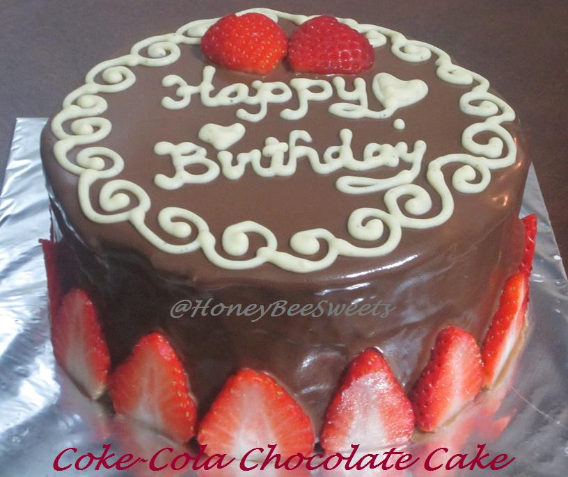 Happy Birthday Chocolate Cake For Friend In Heart Shape ...
