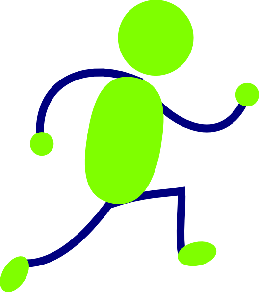 Person Running - ClipArt Best