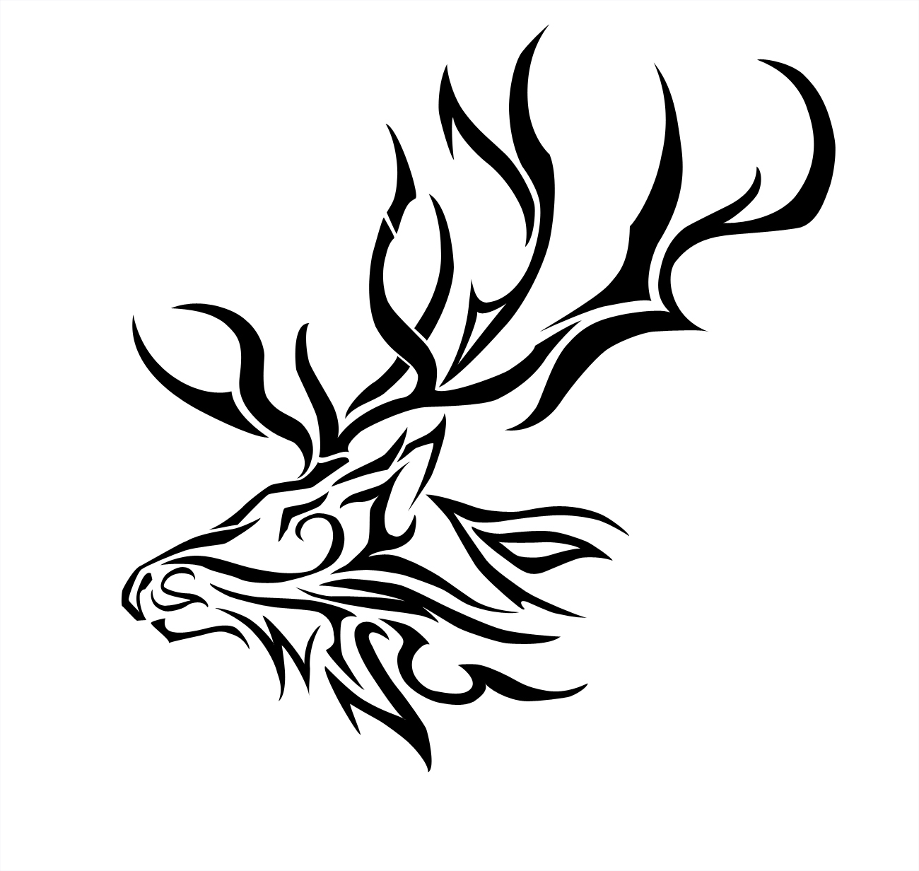 Images For > Tribal Antlers