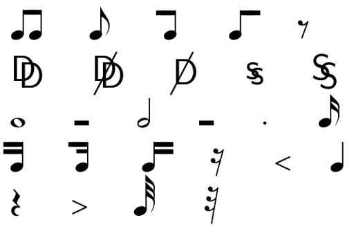 Greek alphabet / letters in LaTeX