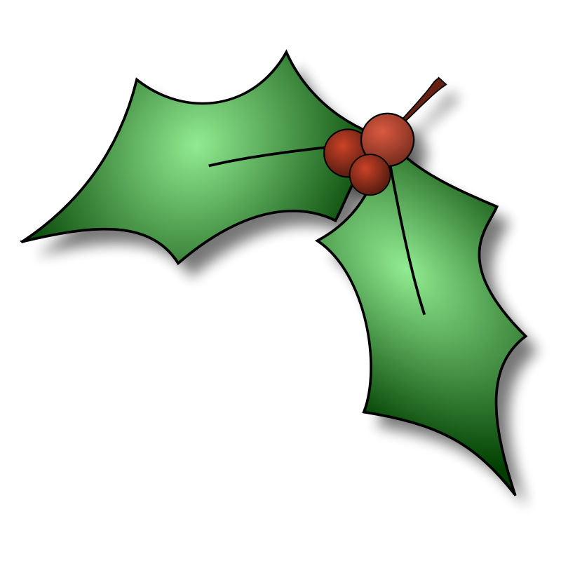 Christmas holly images cliparts co