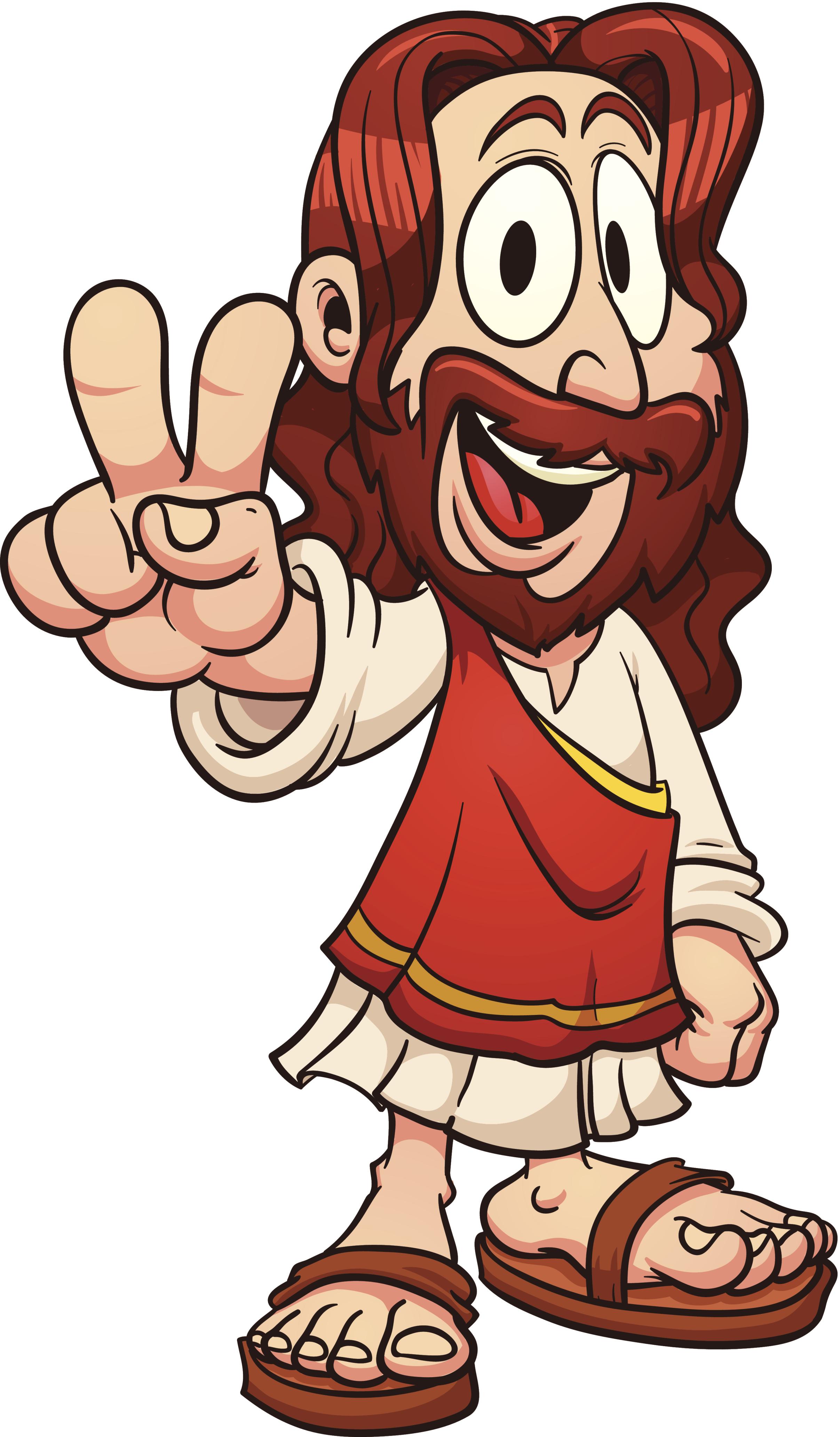 Jesus Cartoon - Cliparts.co