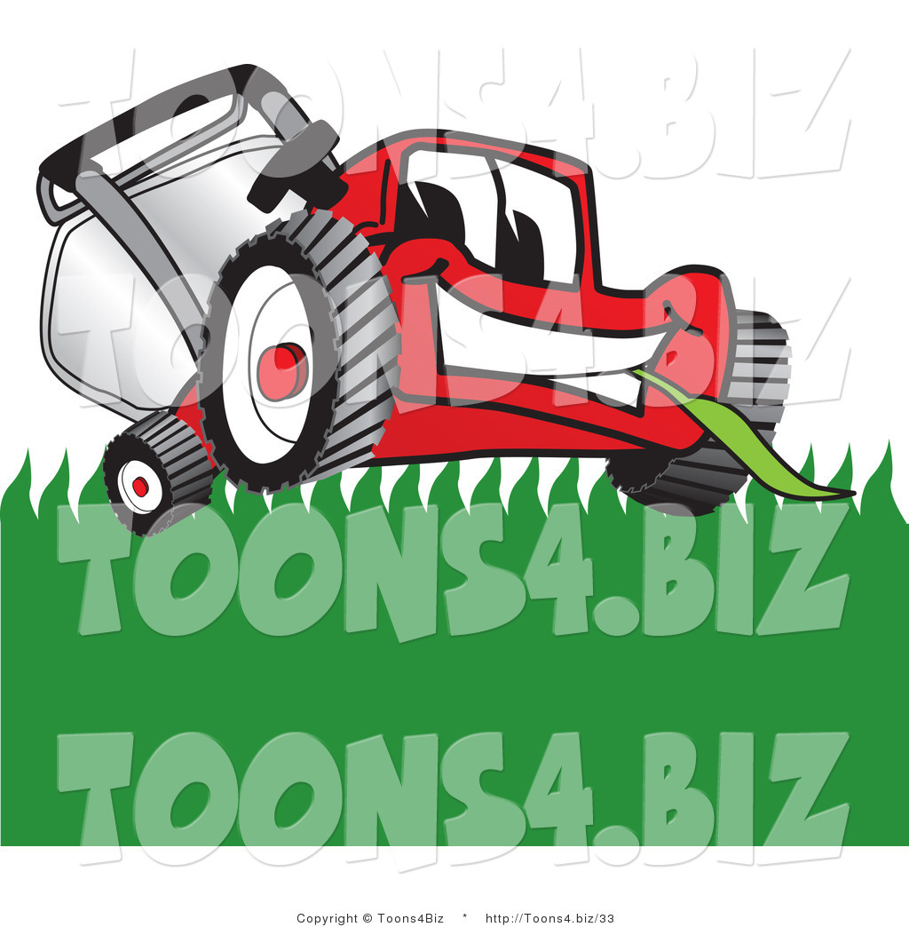 free cartoon lawn mower clipart - photo #35