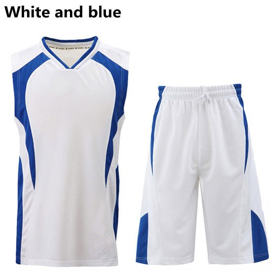 Basketball uniform design light blue