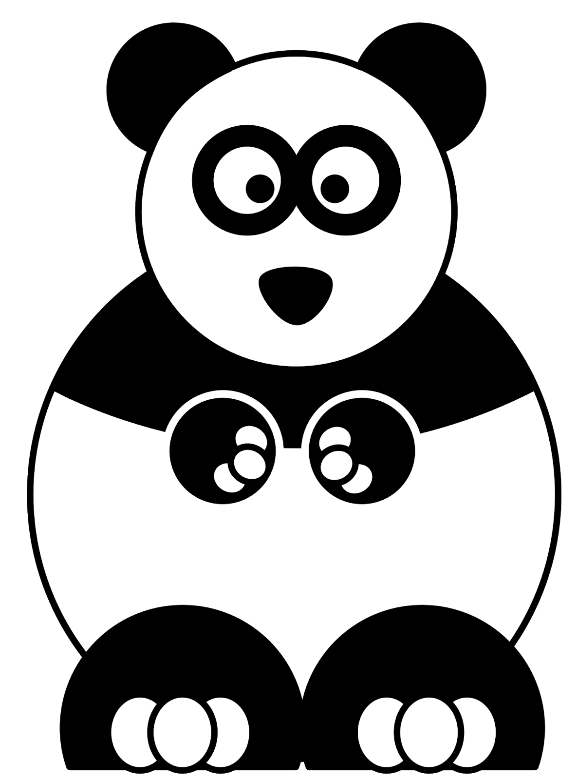 Gambar Kartun Panda Cliparts Co