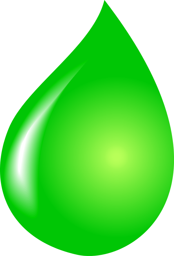 Green Water Clipart