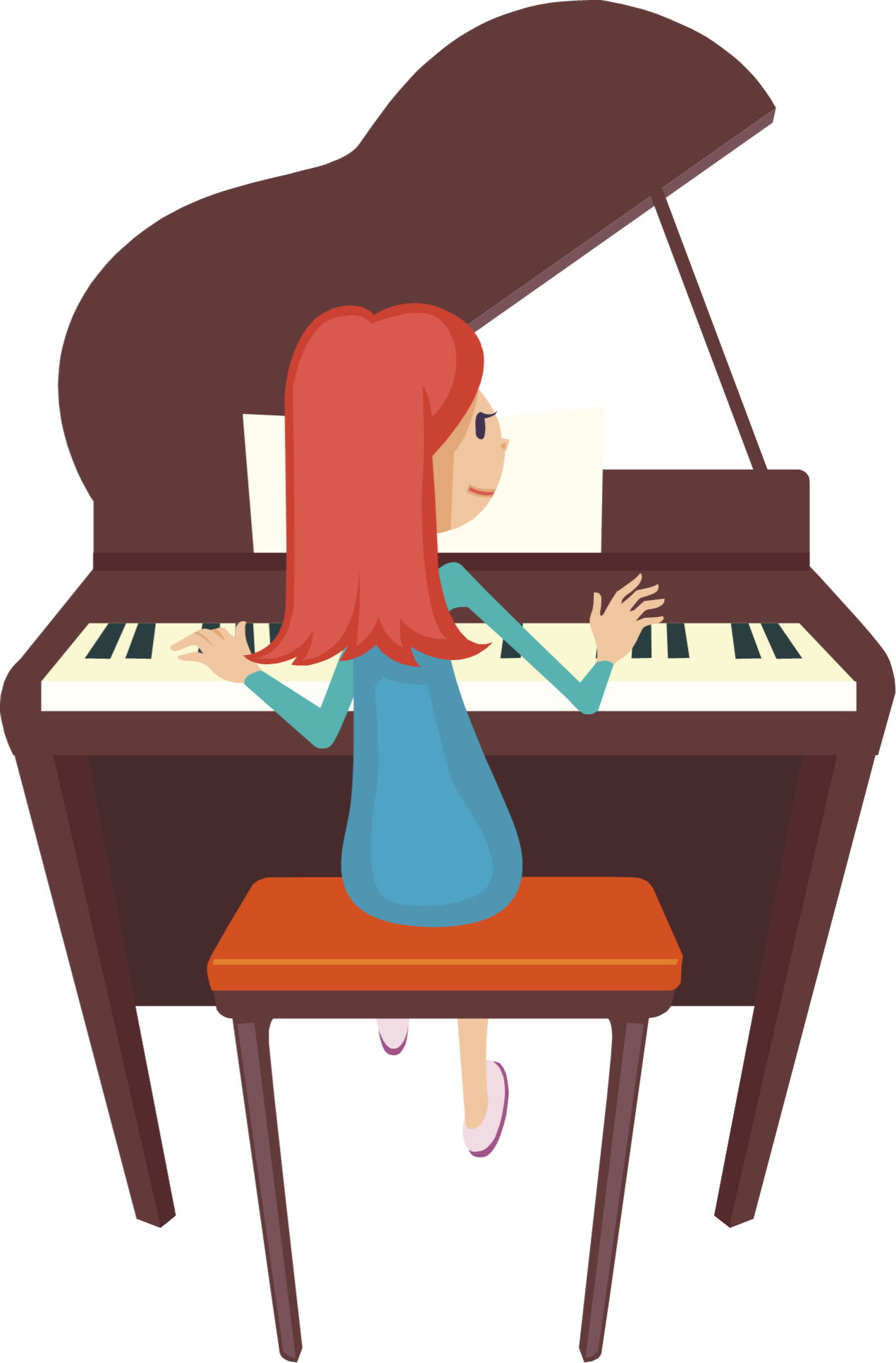 Cartoon Piano Pictures - Cliparts.co
