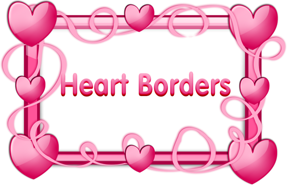 Hearts Border Clipart   Clipart Panda - Free Clipart Images