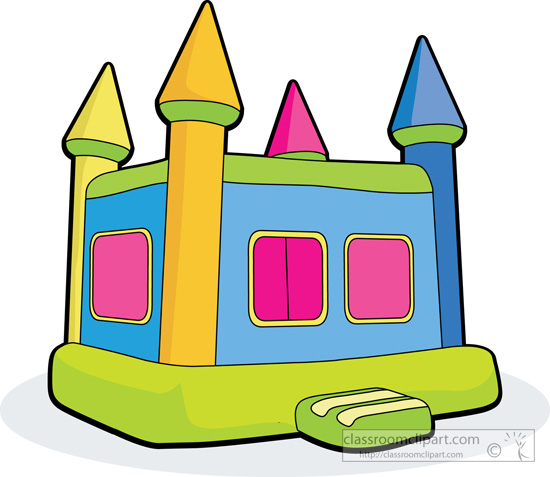 free bounce house clipart - photo #15
