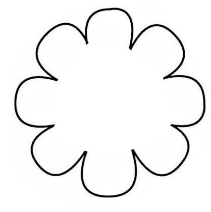 Flower Outlines Printable Free Printable Flower