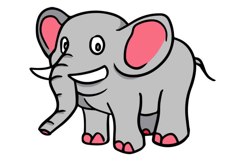 Free to Use & Public Domain Elephant Clip Art
