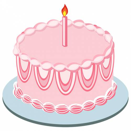 Pink Cake Clipart