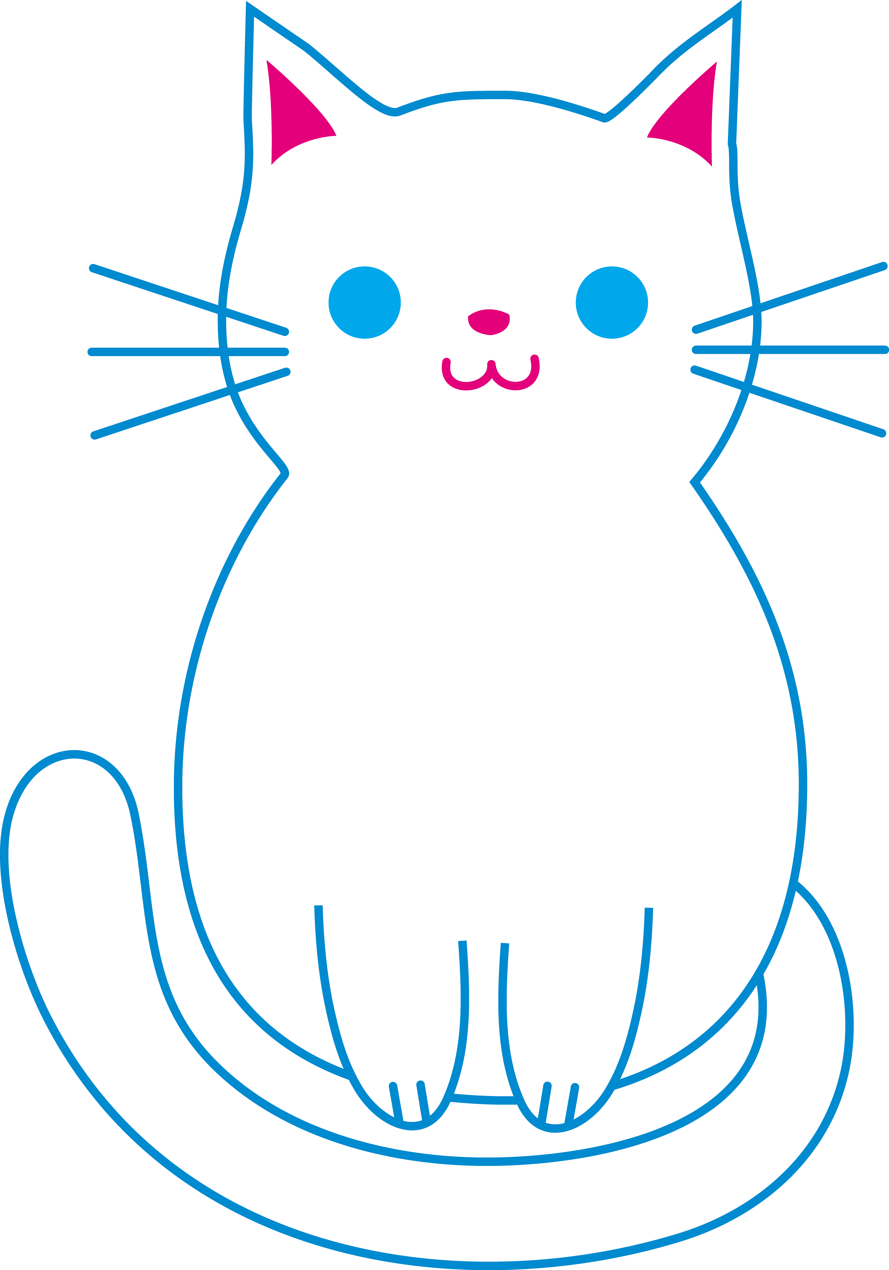 Cute Cat Cartoon Pictures - Cliparts.co
