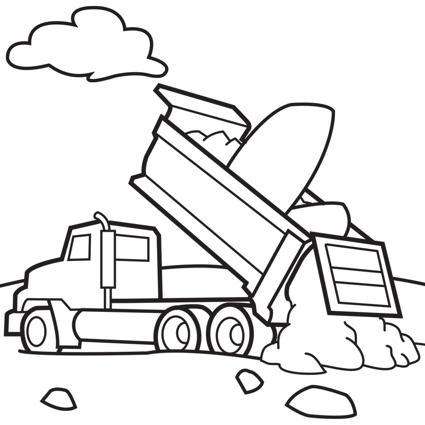 Car Black And White Clipart further 6 also RcL8akRc8 as well Dibujos Para Colorear De Vehiculos De Emergencia 2 in addition Cartoon Pictures Of Trucks. on car coloring pages