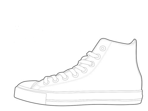 Shoe Outline - Cliparts.co