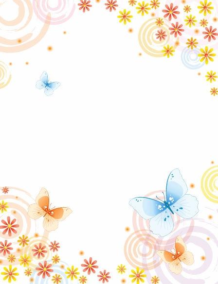 Flower Butterfly Clip Art Free