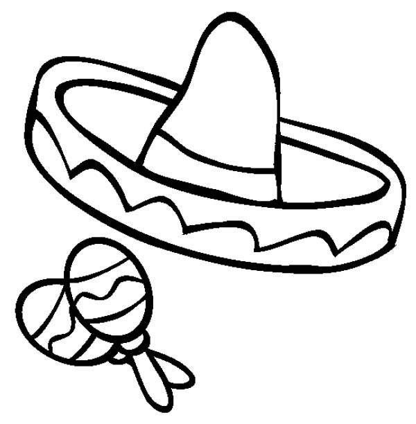 maracas coloring pages kids - photo#5