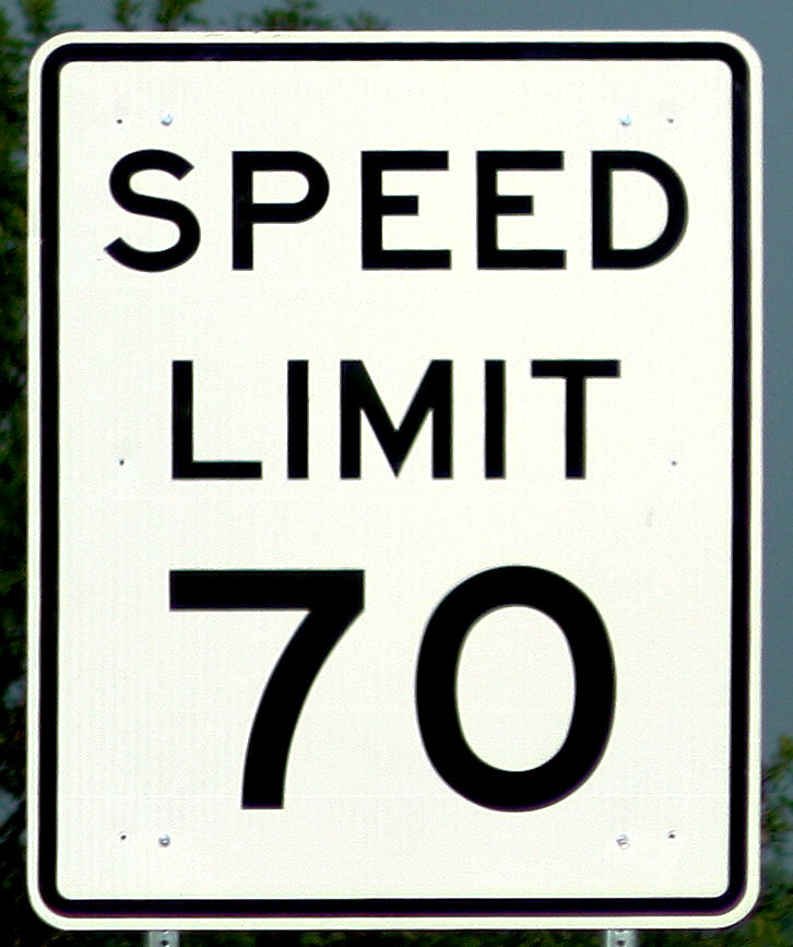 Free-Photos co  Signs  sign- Speed Limit Sign 70