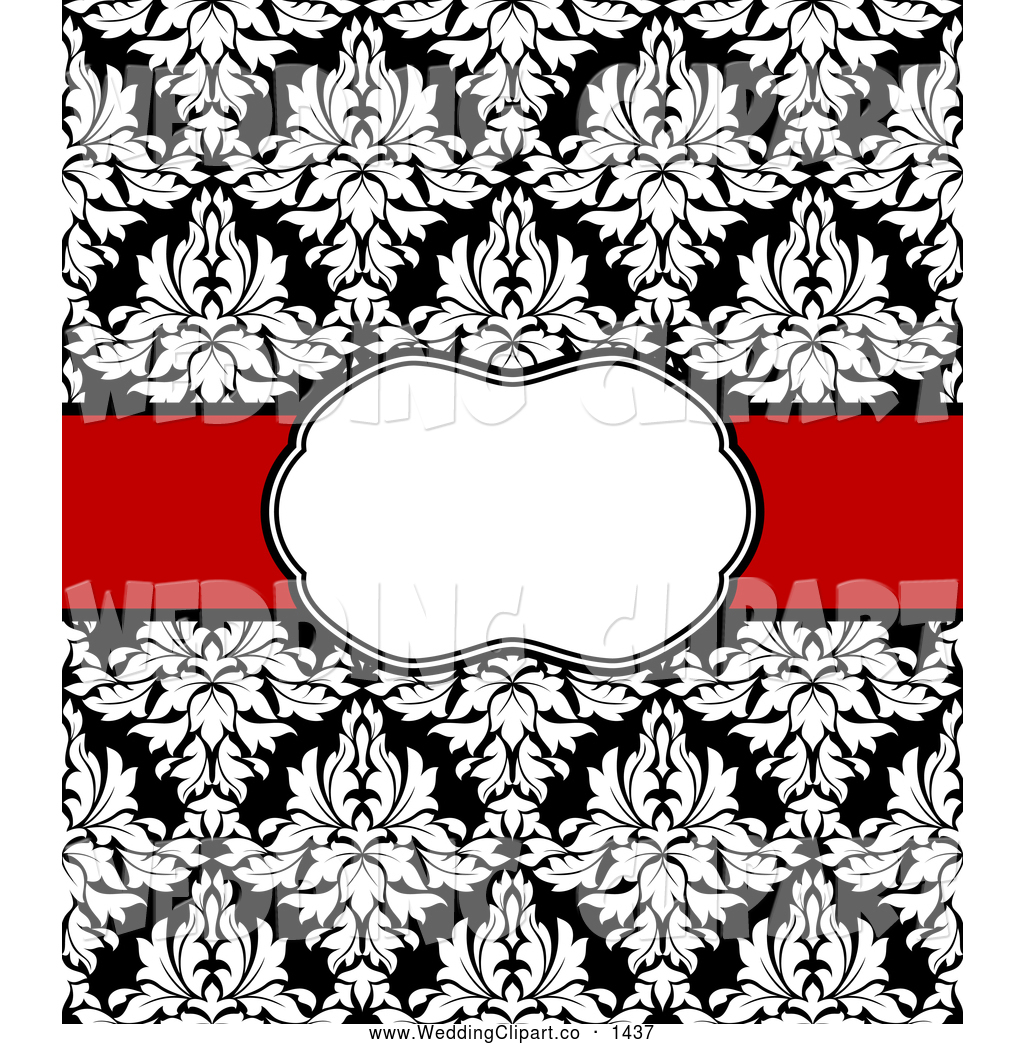 Black Damask Background - Cliparts.co