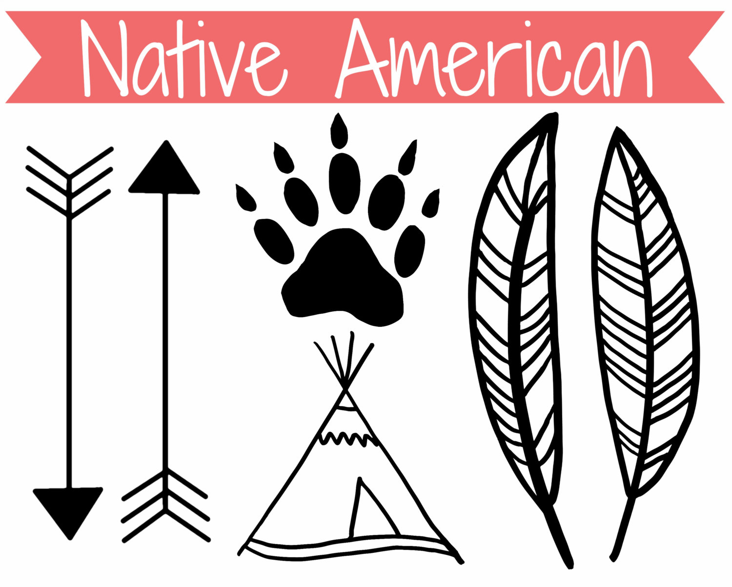 American Indian Graphics - Cliparts.co