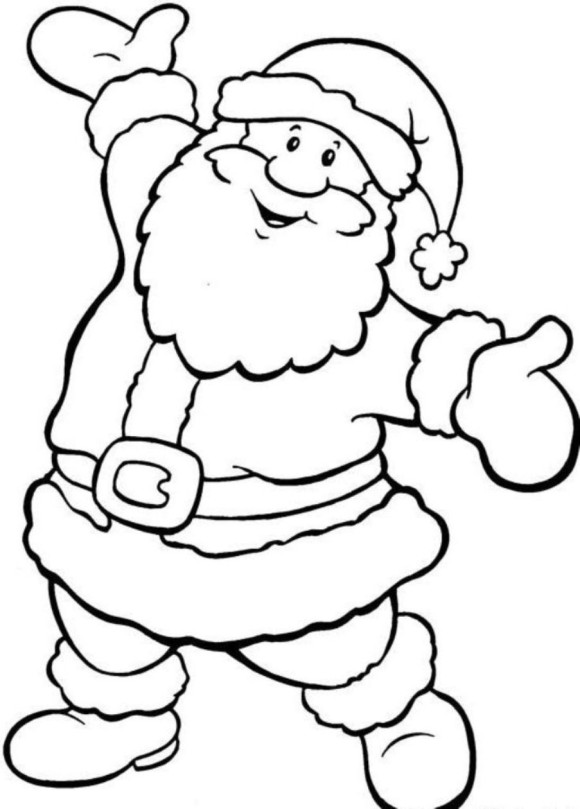 father christmas online coloring pages - photo#8
