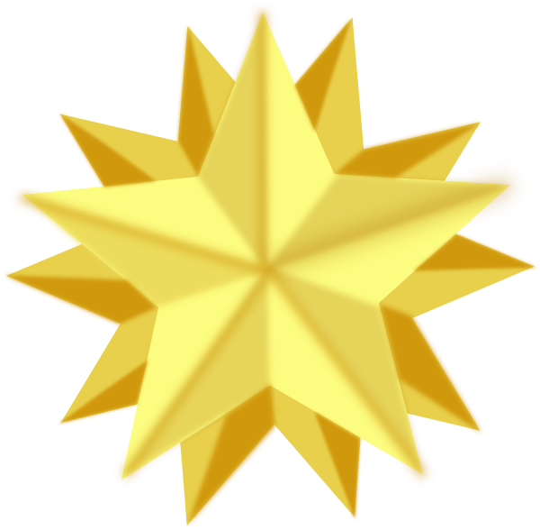 Picture Gold Star - Cl...