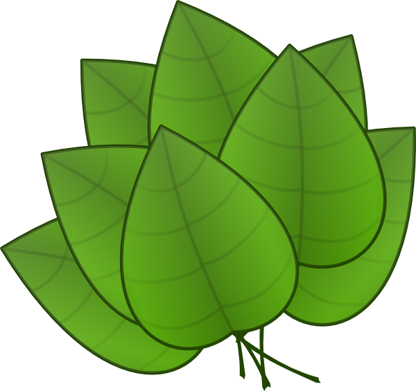 Leaves clip art - vector clip art online, royalty free & public domain