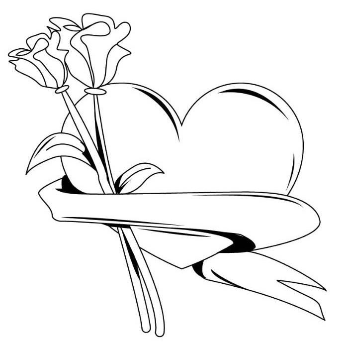 Unicorn Head And Roses Coloring Page - Free Printable Coloring ... | 707x696