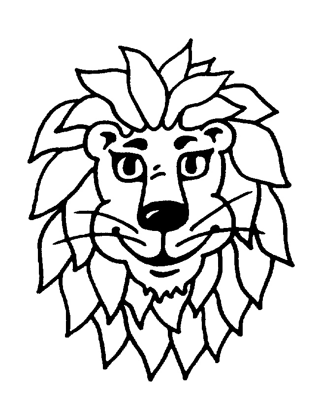 LION'S HEAD,SMILING,CARTOON by NSM Aktiengesellschaft - 772060