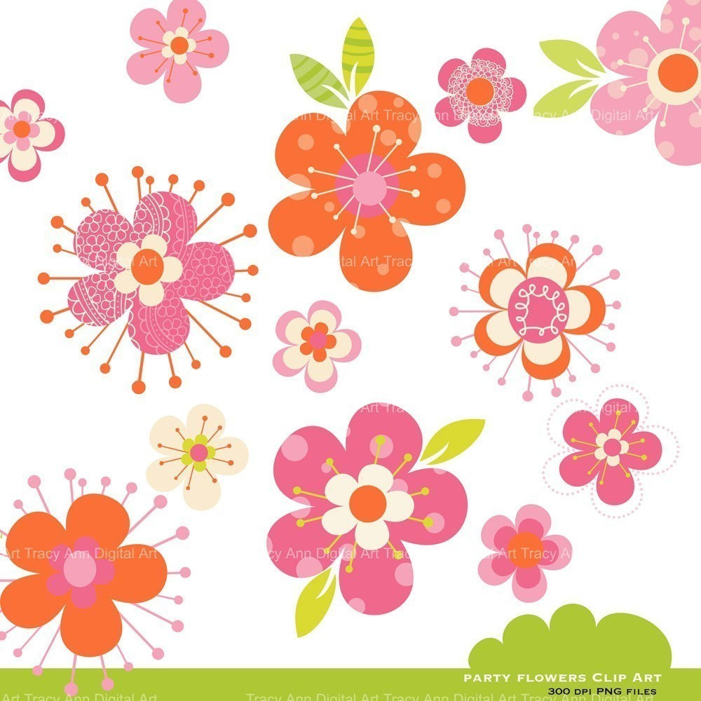 clipart flower backgrounds - photo #39