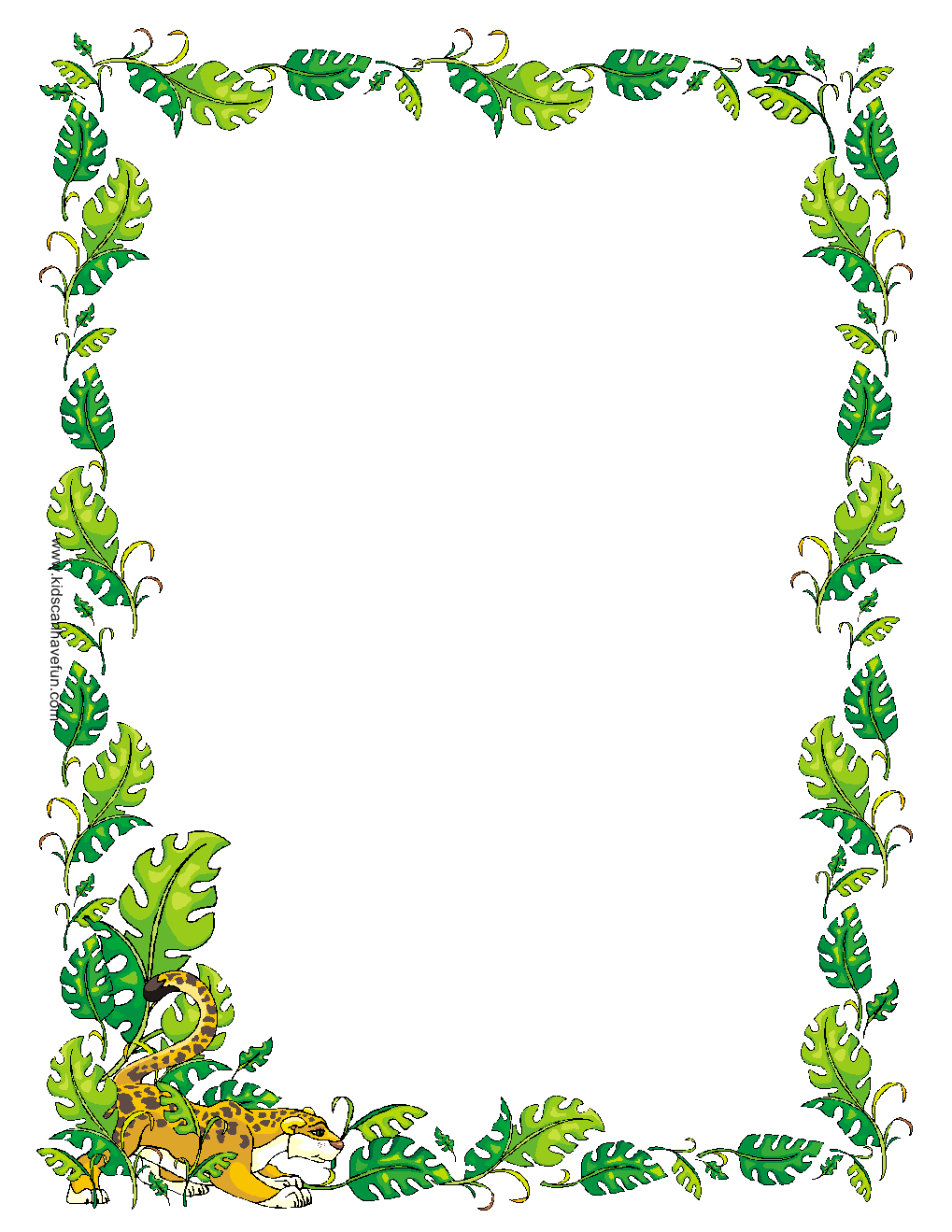 Free printable border designs for paper