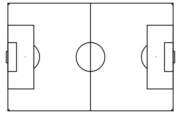 football play diagram template   cliparts coblank football field   clipart best