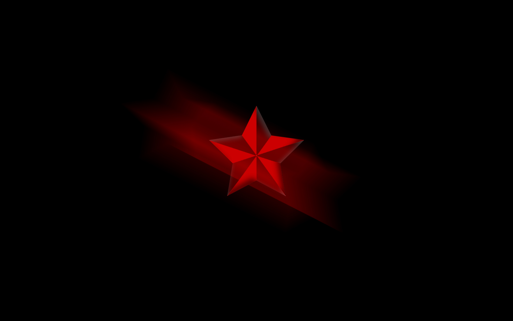 Red Star : Desktop and mobile wallpaper : Wallippo