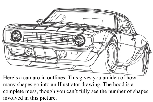 Outline Drawing Of Drift Cars on 2016 Camaro Ss