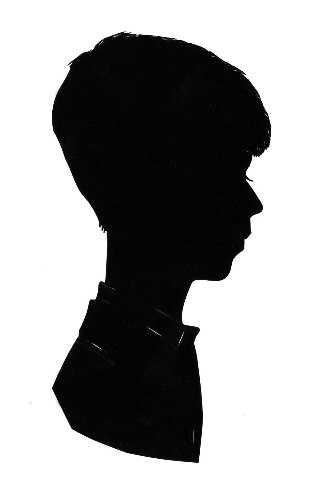 Silhouette Boy Head - Cliparts.co - 91.2KB