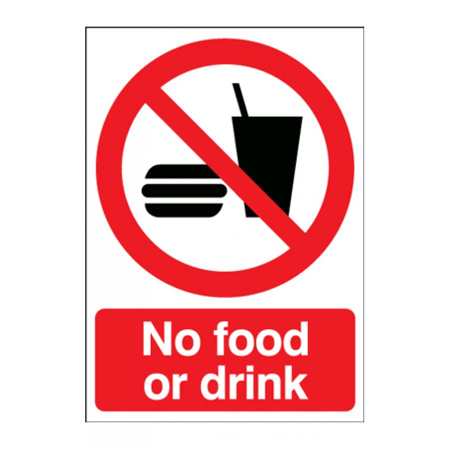 No Food And Drink Near Computers
