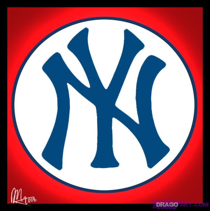 How to Draw the New York Yankees Logo, Step by Step, Sports, Pop ...