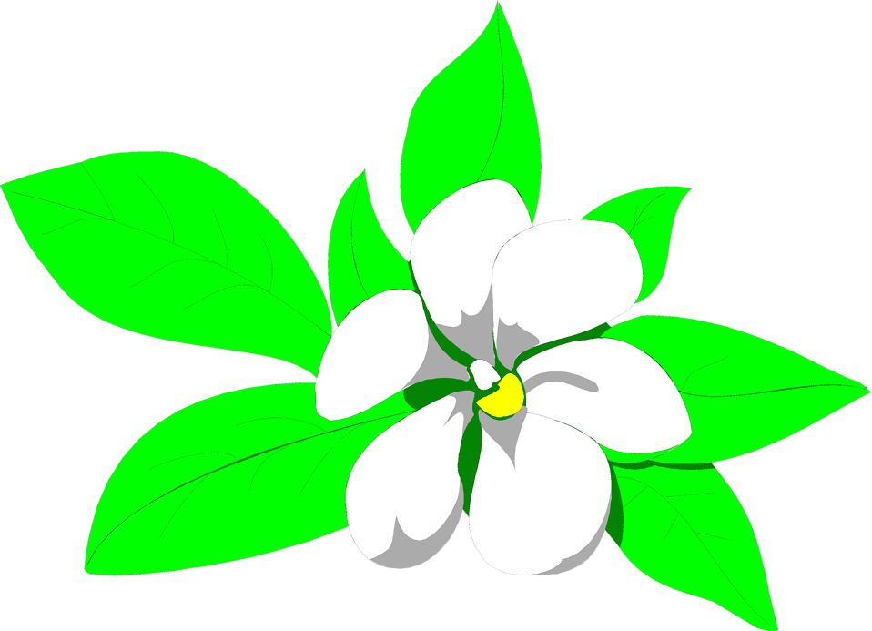 One Flower Clipart Rights Reserved clipart