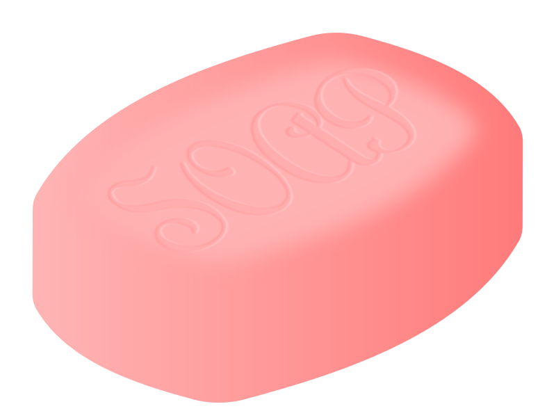 Picture Of A Bar Of Soap - Cliparts.co