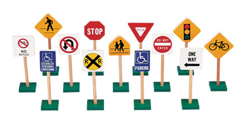 traffic signs and meanings for kids clipartsco