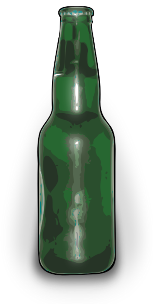 Beer Bottle Silhouette - Cliparts.co