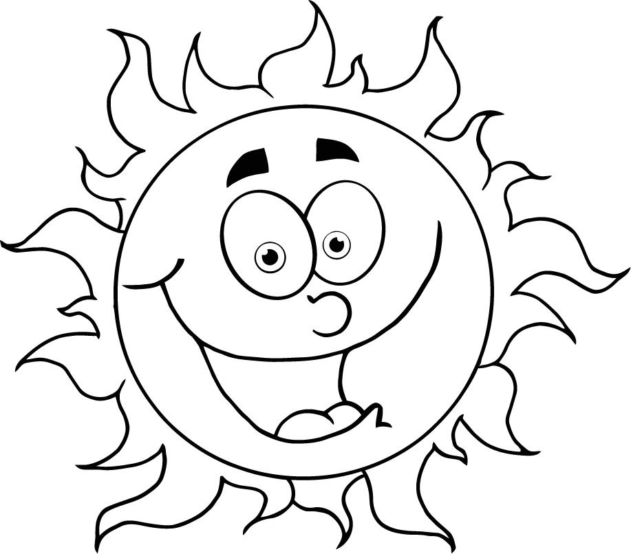 Pictures Of A Cartoon Sun Cliparts Co Web Page Colours