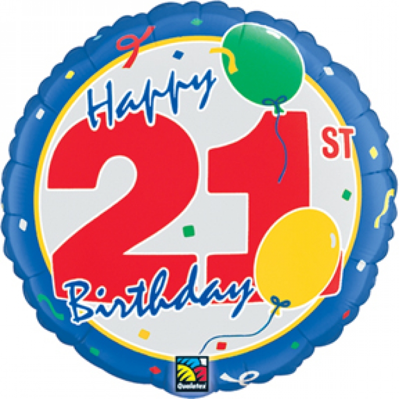 21st Birthday Clip Art - Cliparts.co