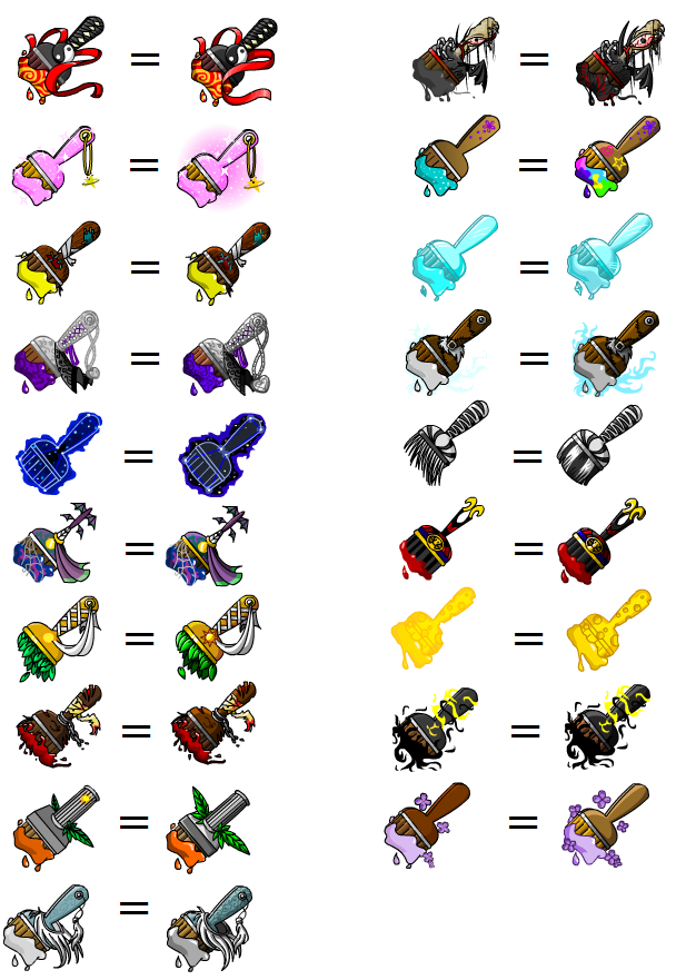 How To Use A Paint Brush Neopets