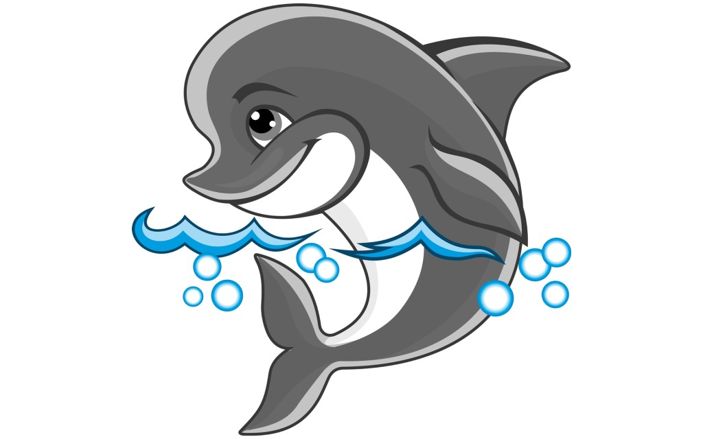 Dolphin Images Cartoon Backgrounds | Free Download Wallpaper ...