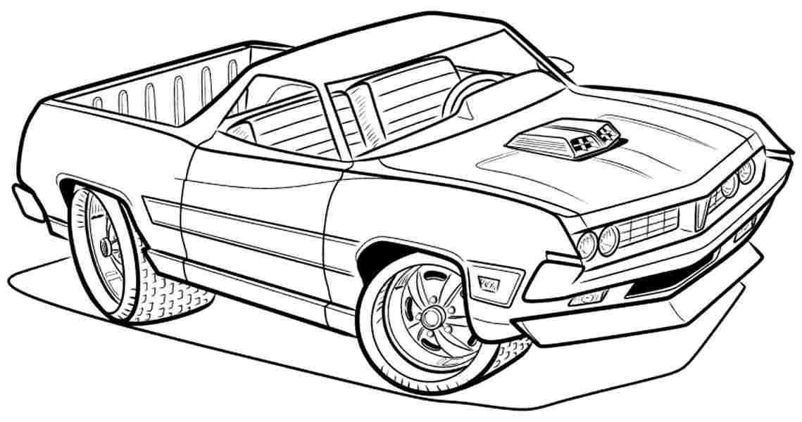car and truck coloring pages - photo#34